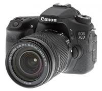 Canon 70D with 2 lenses and 2nd battery