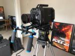 4K URSA BLACK MAGIC DESIGN -  FULL PRODUCTION CINEMA CAMERA
