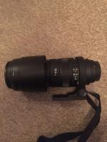 Sigma Lens (150-500mm - Canon Mount)