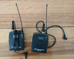 Sennheiser EW 112P G3-A Portable Wireless Lapel Microphone System (516–558 MHz)