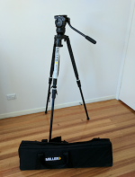 Miller 1831 Compass15 Solo DV Alloy Tripod System