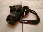 Canon EOS 100D with 18-55mm STM Lens