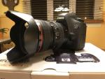 Canon 6D with EF L IS USM 24-105mm Lens